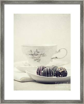 Tea Break Framed Print