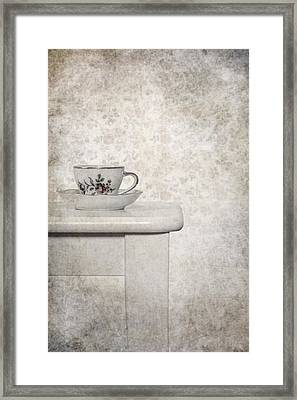 Tea Cup Framed Print by Joana Kruse