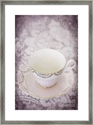 Tea Cup Framed Print by Svetlana Sewell
