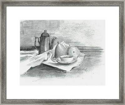 Tea For Madame Framed Print