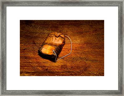 Tea For One Framed Print by Bob Orsillo