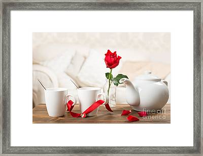 Tea For Two Framed Print by Amanda Elwell