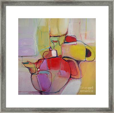 Tea For Two Framed Print by Michelle Abrams