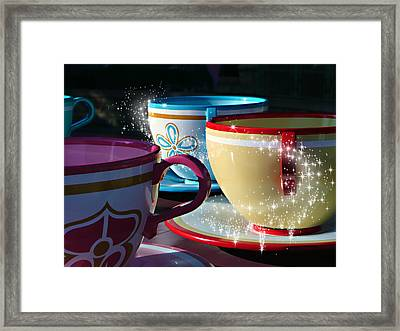 Tea For You Framed Print by Timothy Ramos