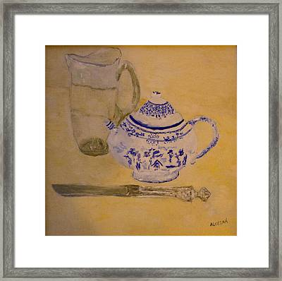 Tea Kettle Framed Print
