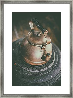 Tea Kettle Framed Print by Karol Livote