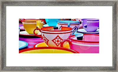 Framed Print featuring the photograph Tea Party by Benjamin Yeager