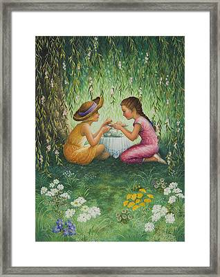 Tea Party Framed Print by Lynn Bywaters