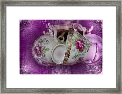 Tea Party Framed Print by The Stone Age