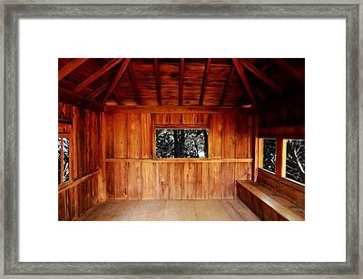 Tea Pavilion Framed Print