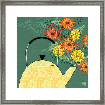 Tea Pot Glory Framed Print