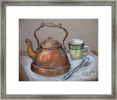 Tea Pot Framed Print by Patricia Januszkiewicz