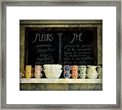 Tea Time Framed Print by Anne McDonald