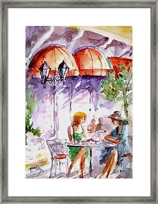 Tea Time...  Framed Print by Faruk Koksal