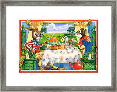 Tea Time Framed Print