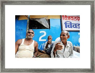 Tea Time Framed Print by Money Sharma