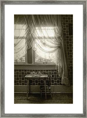 Tea Time Framed Print by Nikolyn McDonald