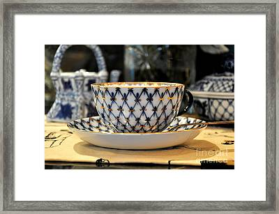 Tea Time Framed Print by Tanya  Searcy