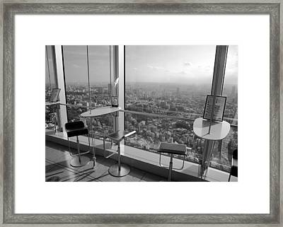Framed Print featuring the photograph Tea With A View by Brad Brizek
