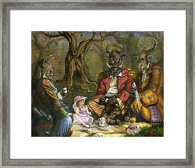 Tea With The Ogres Framed Print by Jeff Brimley