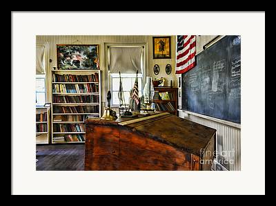 One Room School Houses Framed Prints