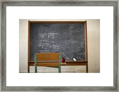 Teachers Pet Framed Print by Jared Adam