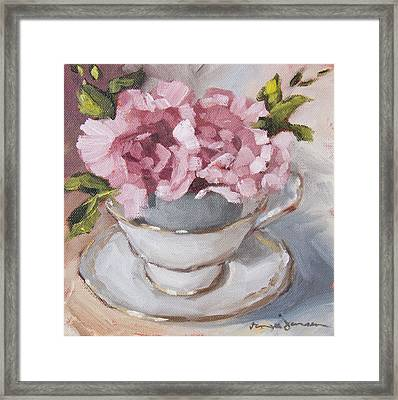 Teacup 2 Framed Print