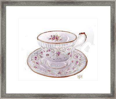 Teacup Framed Print