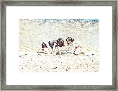 Team Work Framed Print