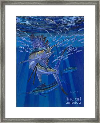 Team Work Off0036 Framed Print by Carey Chen