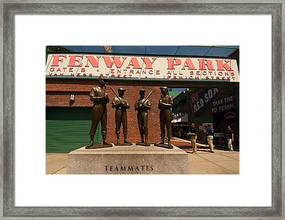 Teammates Framed Print by Paul Mangold