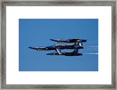 Teamwork Framed Print by Adam Romanowicz