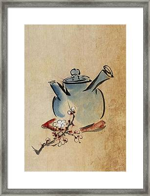 Teapot Framed Print by Aged Pixel