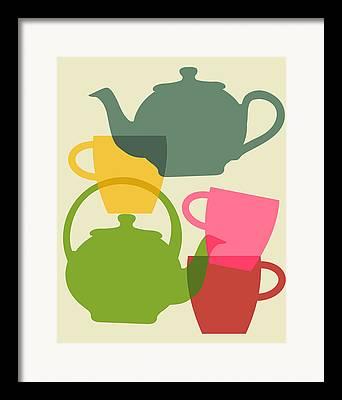 Teapots Framed Prints