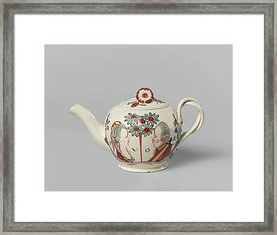 Teapot, Anonymous Framed Print