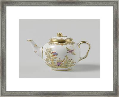 Teapot, Belonging To A Tea Service Déjeuner Bolvry Framed Print