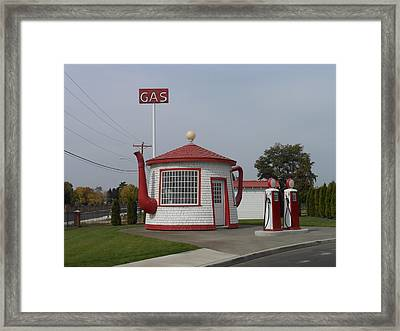 Teapot Dome Gas Station 2 Framed Print