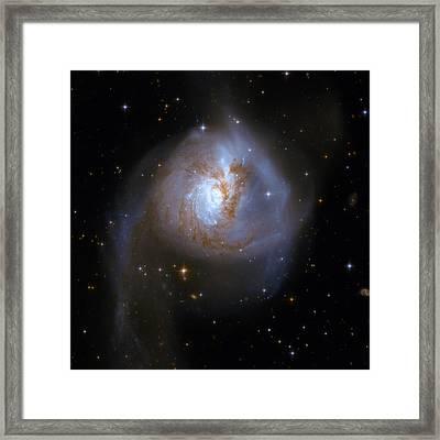 Tear Drop Galaxy Framed Print by Jennifer Rondinelli Reilly - Fine Art Photography