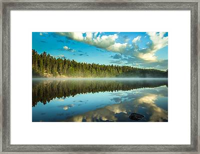 Tear Framed Print by Matti Ollikainen