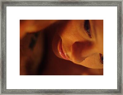 Tear Framed Print