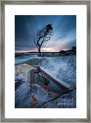 Teardrop Framed Print