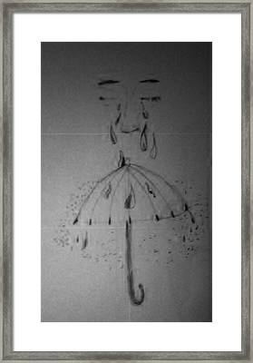 Tears From Above Framed Print by Jesse Johnson