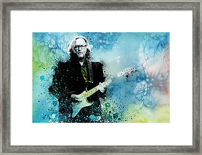 Tears In Heaven 3 Framed Print by Bekim Art