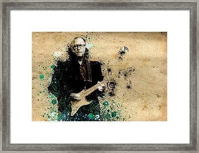 Tears In Heaven Framed Print by Bekim Art