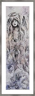 Tears Of An Angel Framed Print by Rachel Christine Nowicki