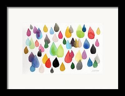 Rain Framed Prints