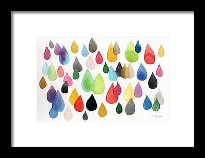 Water Drop Framed Prints