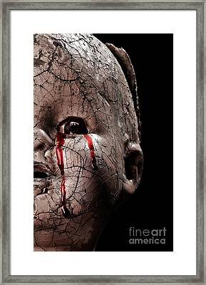 Tears Of Blood Framed Print by Jt PhotoDesign