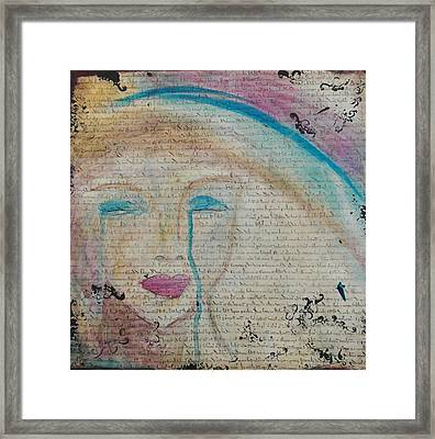 Tears Of Hope Framed Print by Debbie Hornsby