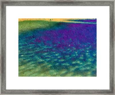 Tears Of Joy Framed Print by Tom Druin